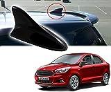 Auto Pearl - Premium Quality Black Shark Fin Replacement Signal Receiver Antenna For - Ford Figo Aspire