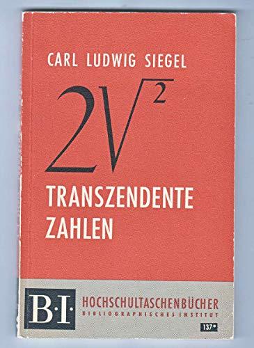 Transzendente Zahlen