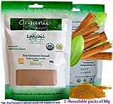 Certified Organic 170g/6.07oz Gourmet Pure Ceylon/True Cinnamon Powder(C.Zeylanicum)Sulfur Free