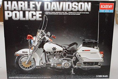 Harley Davidson Police Hancock Kit Bausatz 1/10 Academy Modell Motorrad Modell Auto