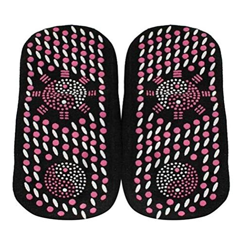 Haplws Fußpflegesocken Selbsterhitzende Magnetfeldtherapie-Socken Gesundheitspflege Atmungsaktives Massagegerät Gesundheitspflege-Socken 1 Paar