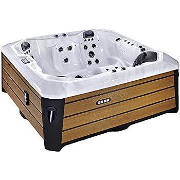Jacuzzi d extérieur - spa 6 places - acrylique haute qualité argent ... 0df4f6f314c0