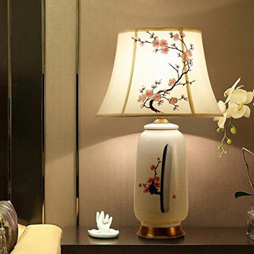 Lozse Chinesisch, Kupfer, Keramik, Tischleuchte, Schlafzimmer, Nachttischlampe, Klubhaus, hotel, Lampe, Villa, Lampe -