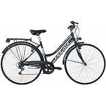 Frejus Chelsea, Bicicletta da Città Donna, Nero, M