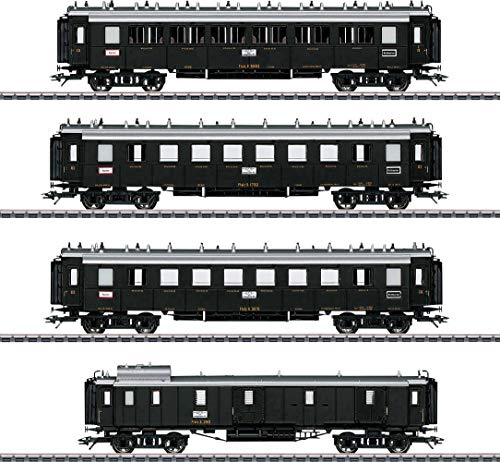 Märklin 41354 Schnellzugwagen-Set Pfalz Personenwagen, Diverse