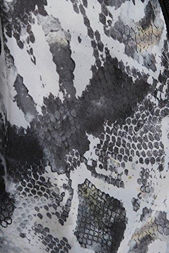 Impermeabile leopardato da donna, taglia 44-52 Schlangenmuster