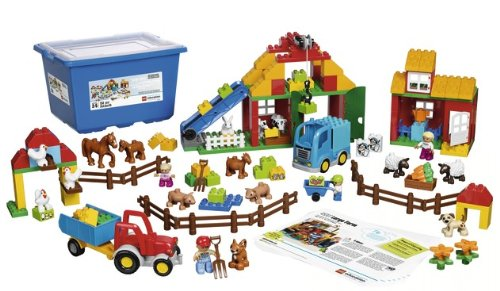 LEGO-Education-Preschool-Large-Farm-Brick-type-LEGO-DUPLO-Piece-count-154-Age-recommendation-2-5