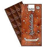 Xucker Xylit Xukkolade (10x100g) Full Cream Milk Chocolate Sea Salt & Caramel