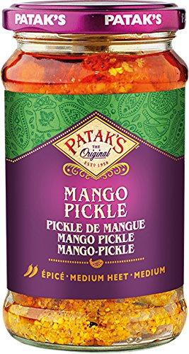 Patak's Mango Pickle, mittelscharf, 6er Pack (6 x 283 g)