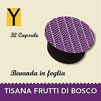 Capsule compatibili con le macchine Nescafè dolce gusto - TISANA FRUTTI BOSCO - Confezione da 32 capsule.