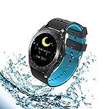 Smart Armband, groß Bildschirm Colorful Sport Smart Uhr mit Herzfrequenz Monitor, IP67WATERP Sleep Monitor Bluetooth Aktivität Fitness Tracker für Android iPhone IOS Phones Samsung Huawei für Ki