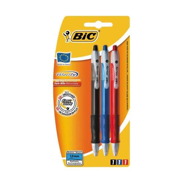Bic Velocity – Bolígrafo, 3 unidades