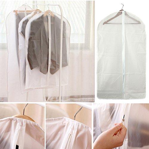 Pindia 1 PC 60 x 90 CMS Transparent Garment Cover Dress Coat Bag Suit Bag Coat Cover