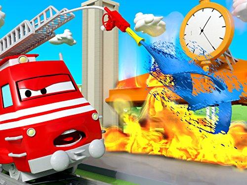 Das Feuer/Der Schneemaschinen Lastwagen/Der Schneemaschinen Zug/Der kleine Zug hat einen Unfall
