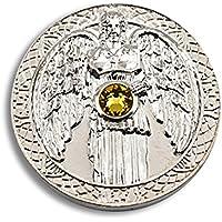 Engeltaler Jophiel Schutzengel Talisman der Weisheit versilbert mit Kristall, Ø 27mm, Glücksbringer Glücksmünze... preisvergleich bei billige-tabletten.eu