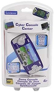 Lexibook jl2050 jeu electronique console de jeux 200 jeux cyber console center - Console de jeux lexibook ...