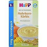 Hipp Herzhafte Getreidebreie; Mehrkorn-Kürbis, 4er Pack (4 x 350 g)