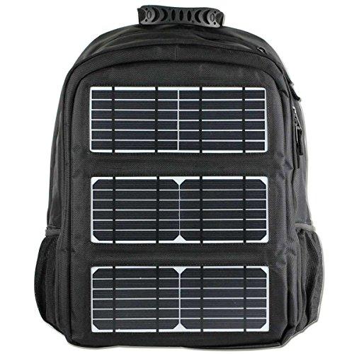 XLY Outdoor-Reisen USB-Solar-Ladebeutel, Neuer Männer-Casual-Sport-Polyester-Rucksack -