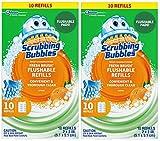 scrubbing Bubbles Fresh Brush refill 10-count,2pezzi