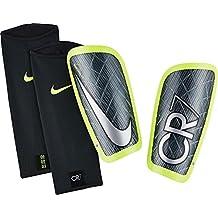 Nike Cr7 Mercurial Lite Espinilleras Línea Cristiano Ronaldo, Unisex adulto, Verde (Seaweed / Voltage Green / White), M