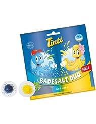 Tinti Duo de Sels de Bain Jaune / Bleu