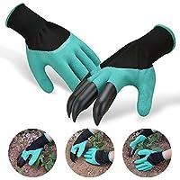 Guanti da giardinaggio con ABS plastica, utensili per il giardinaggi sensibilità lavoro Scavando artigli per giardino Miglior Regalo Per Uomini e Donne Giardinieri