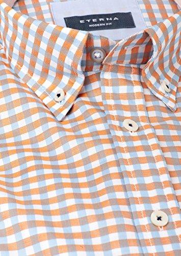 ETERNA Herren Hemd -Gr.wählbar- orange Orange