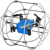 Drone Nincoair Iron 4canaux, roue et TREPA Par Les mur 9x 9x 9cm Batterie et Chargeur