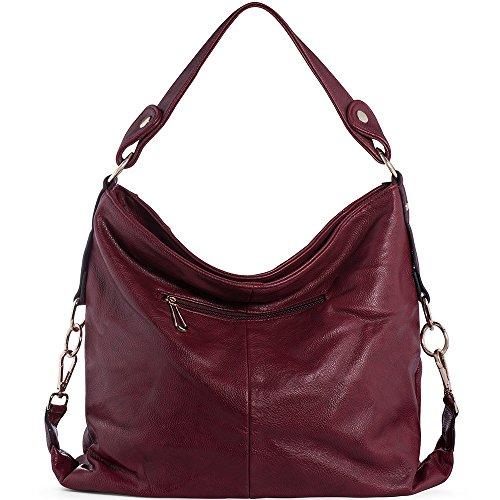 bbf6ef0592030 ... UTAKE Damen Handtasche Umhängetaschen PU Leder Schultertaschen Frauen  Handtaschen Groß 38 30 12 cm ...