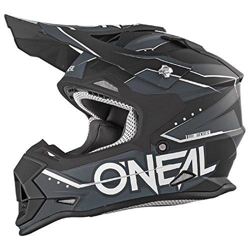 O'Neal 2Series Kinder MX Helm Slingshot Schwarz Moto Cross Enduro Quad Offroad DH, 0200-86, Größe L