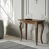 Group diseño Consola estilo Bassano Nogal extensible estilo Bassano Nogal Antiguo entrada salón de-co/40