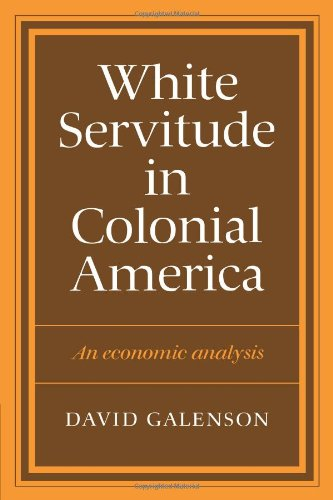 olonial America: An economic analysis ()