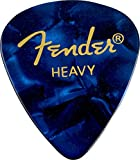 Fender Premium Celluloid 351 Heavy blue moto