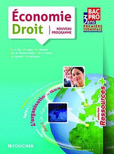 Economie-Droit Nouveau programme