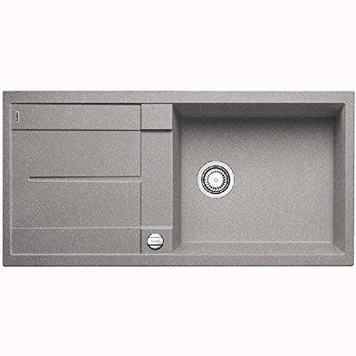 Preisvergleich Produktbild Blanco Metra XL 6 S-F Alumetallic Grau Flächenbündig Granit-Spüle Küchenspüle