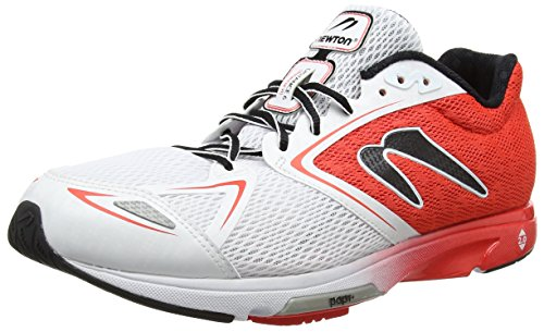 Newton Running Men's Distance Vi Running Shoe, Scarpe da Corsa Uomo Rosso (Red/white)