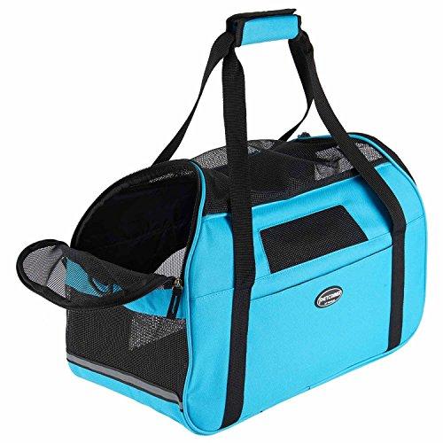 Transportín para animales domésticos, bolso a bandolera ergonómico