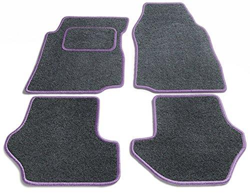 Preisvergleich Produktbild JediMats 90060L-Pre-Lila-Schi Prestige Maßgeschneiderte Fußmatte für Ihr Auto, Schiefer