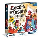 Clementoni- Party Games-Caccia al Tesoro, Multicolore, 16153