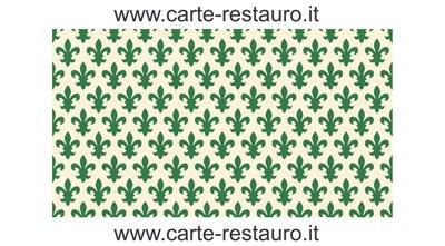 Madiant Tech snc di Gusmini Alessio & C. Florentiner Lilienpapier, Format 70x100 cm - Farbe: Grün - (Preis pro Packung à 10 Stück)