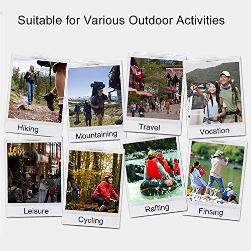 Outdoor Erste-Hilfe-Tasche Notfalltasche Medzinische Hilfe für Outdoor Aktivitäten wie Camping Radfahren Klettern Wandern ( Farbe : Grün ) - 7