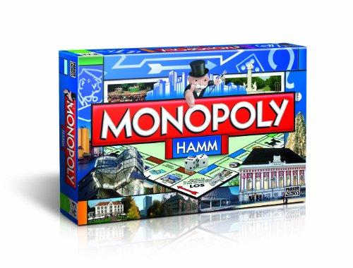 Winning Moves Monopoly Hamm Edition – Das berühmte Spiel um den großen Deal! | Familienspiel