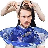 Toamen Cape de Coupe de Cheveux Cap Umbrella Salon de coiffure Accueil Stylistes utilisant DIY Coloré