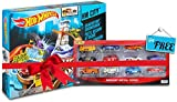 #6: Hot Wheels Color Shifter Sharkport Showdown BGK04 Get Free Mattel 12 pcs car set box (Multicolor)