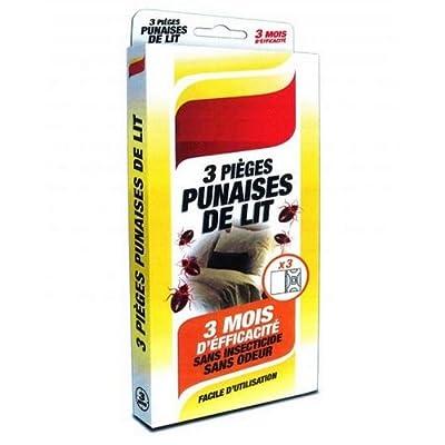 Détecteurs Pièges pour PUNAISE DE LIT x 3 pièges