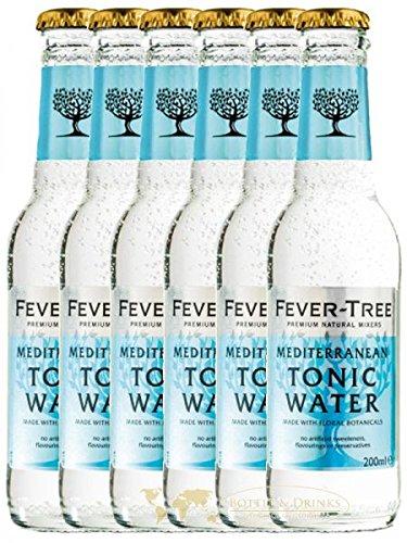Fever Tree Mediterranean Tonic Water 6 x 0,2 Liter