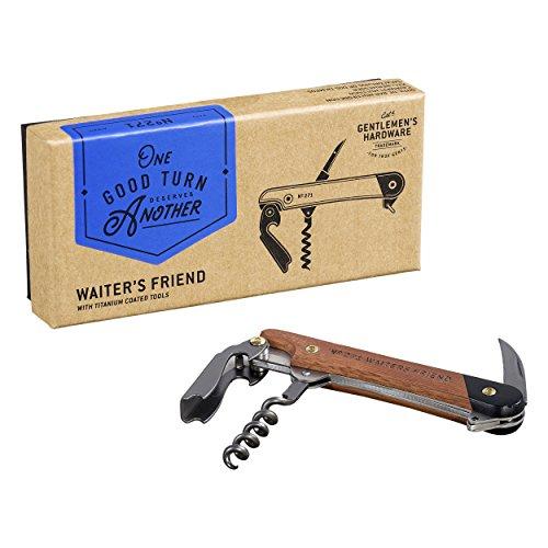 Gentlemen 's Hardware gen271Küche Multi Tool, braun