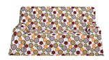 Martina Home Mikonos Foulard Multiusos, Tela, Verde, 270x200x3 cm
