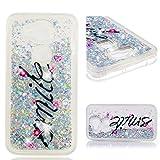 sinogoods Für Huawei G8 / G7 Plus / GX8 Hülle TPU Schutzhülle Silikon Tasche Case Cover - Treibsand (Lächeln)