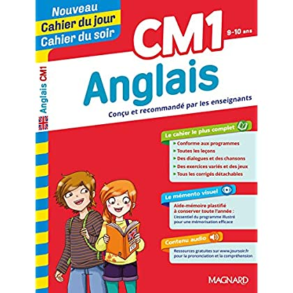 Cahier du jour/Cahier du soir Anglais CM1